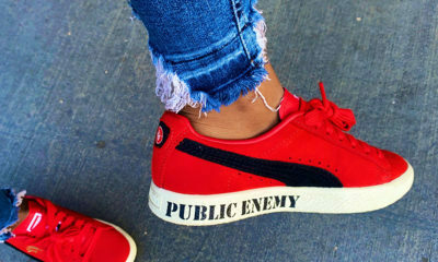 "Nomzamo Mbatha previews new Puma ""Clyde"" sneaker ahead of official launch"