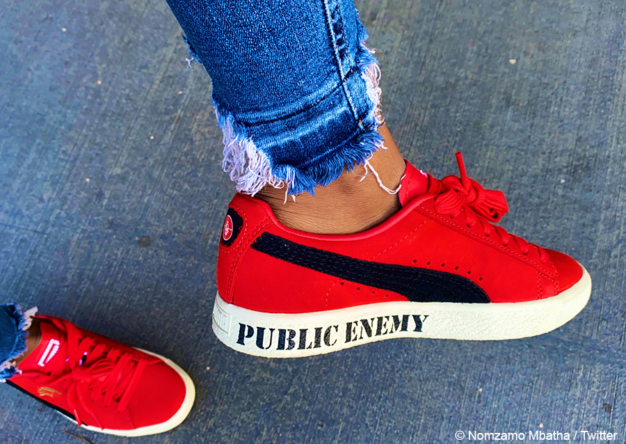 """Nomzamo Mbatha previews new Puma """"Clyde"""" sneaker ahead of official launch"""