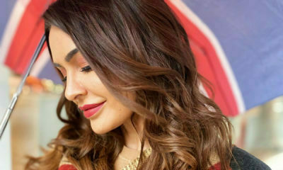 Shashi Naidoo gets her hair done at Issy's Belgravia in London