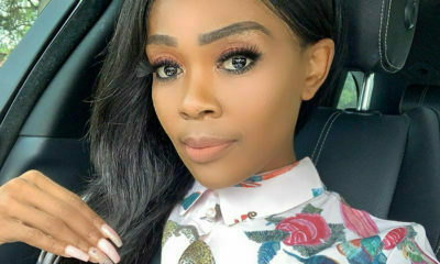 Thembi Seete shows off toned legs on Women's Health SA magazine cover