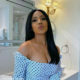 Thuli Phongolo showcases black wig from Hair Kingdom South Africa