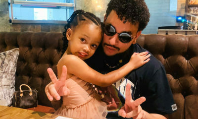 Social media users focus on Kairo's designer handbag in images with father, AKA