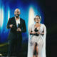 Boity Thulo wears Orapeleng Modutle dress with high slit to DStv Mzansi Viewers' Choice Awards
