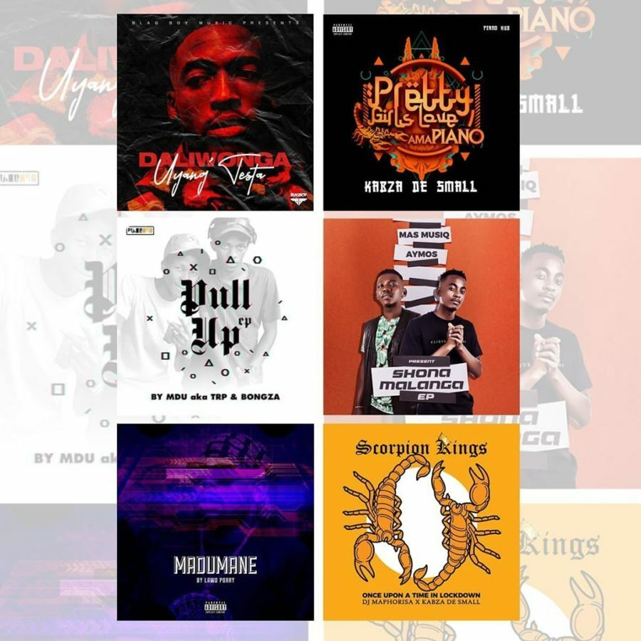 DJ Maphorisa's Blaqboy Music releases six new projects within 24 hours