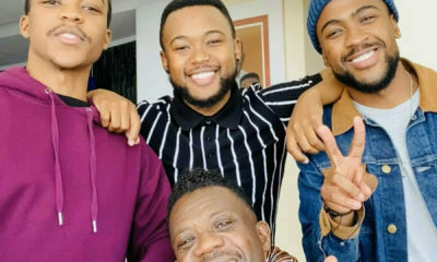 Benjamin Dube amused by social media users labelling his sons as heartthrobs