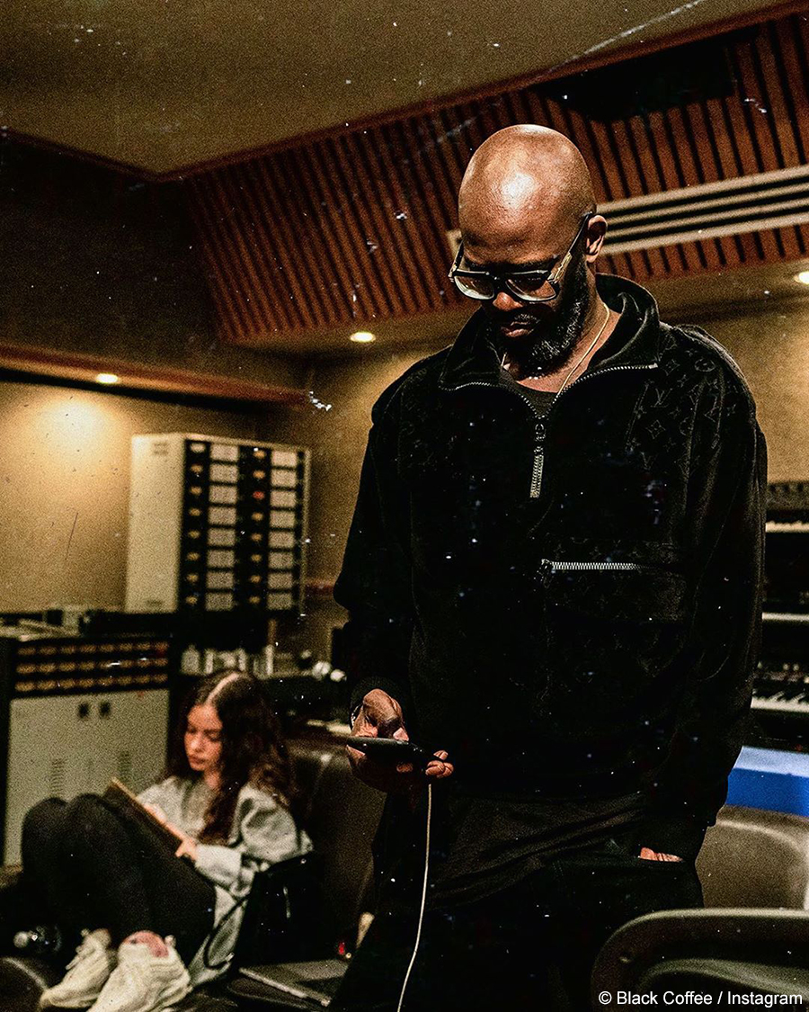 Black Coffee set to release title track off his upcoming album, SBCNCSLY, featuring Sabrina Claudio