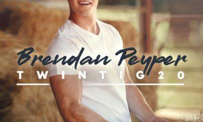 Brendan Peyper Album Twintig20, which features the pop-country single, Lekkerder Op My Trekker