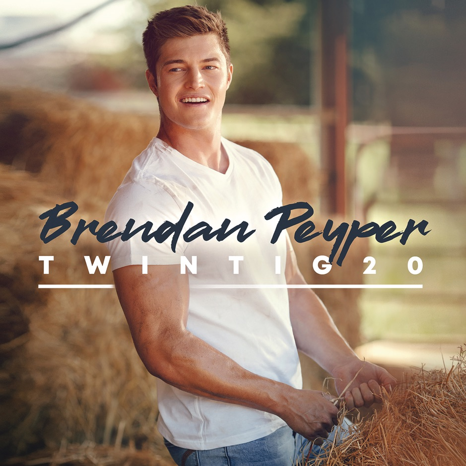 Brendan Peyper Album Twintig20, which features the pop-country single, Lekkerder Op My Trekker