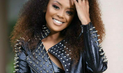Lerato Kganyago wears leather ensemble with cleavage-baring top in latest Instagram images